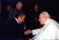 The Bible - Audio Recording - Presentation to Pope John Paul II